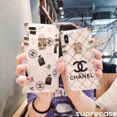可愛い chanel iphone xrケース レディース iphone xs maxケース