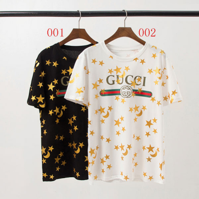 GUCCI人気新作 星&月柄 箔プリントTシャツを最新入荷